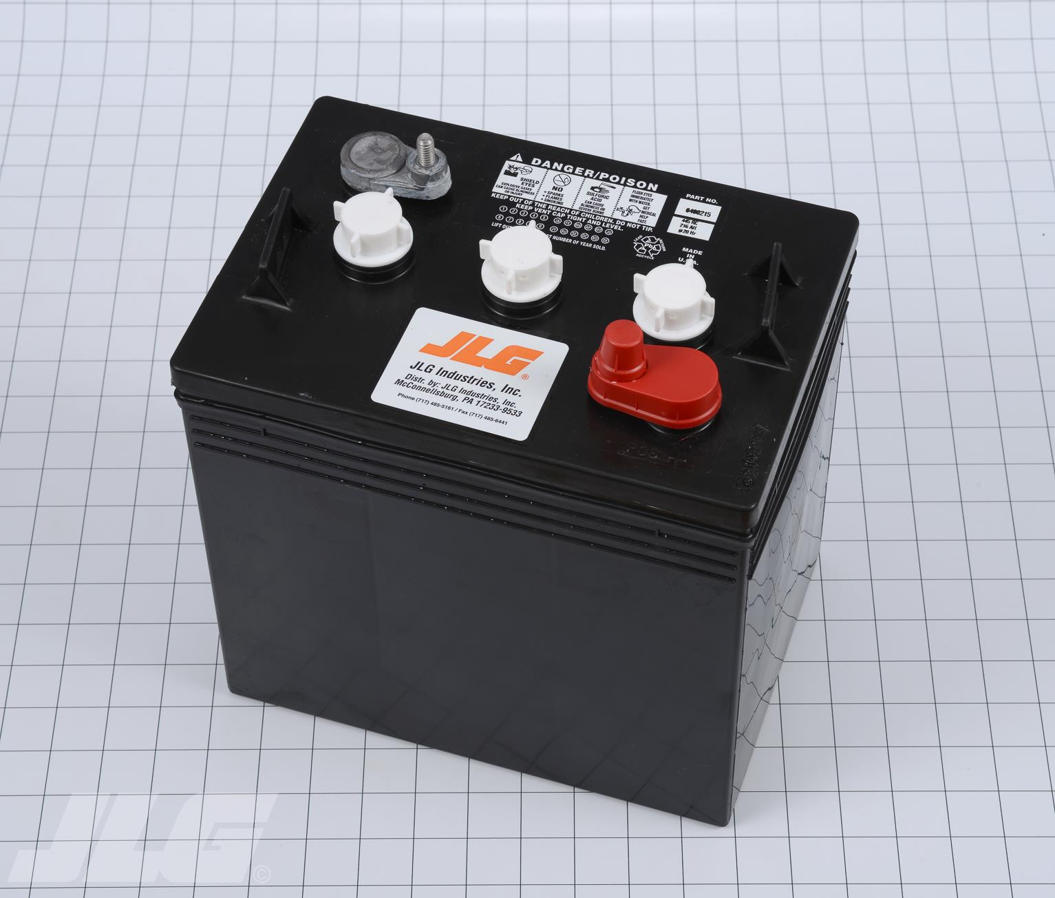 Bhe Parts Jlg 0400215 Battery 6 V